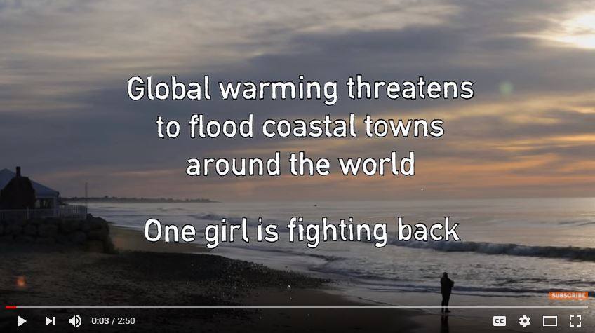 Cassandra Lin helps fight coastal flooding due to climate change